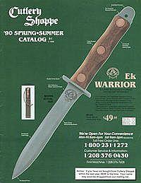 EK COMMANDO KNIFE DOCUMENTS